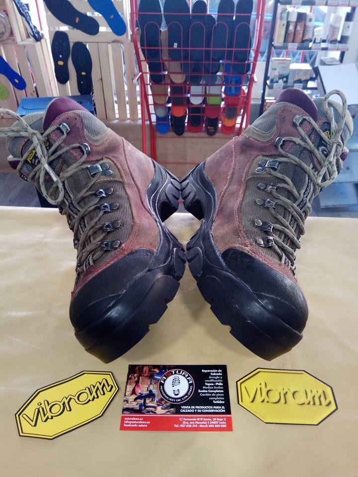 Reparación de calzado de montaña en León