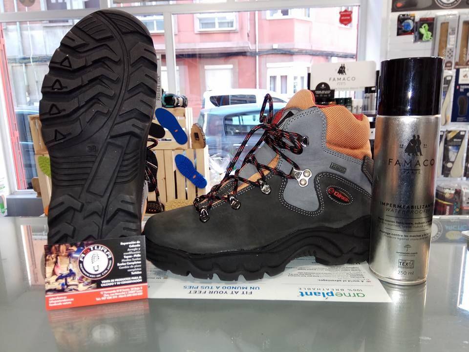 Venta de productos para el calzado: Servicios de Astura