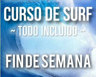 Curso de surf Fin de Semana: Catálogo de Escuela Cántabra de surf