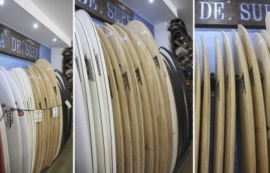 Tablas de surf Firewire disponibles en E.C.S. Surf Shop