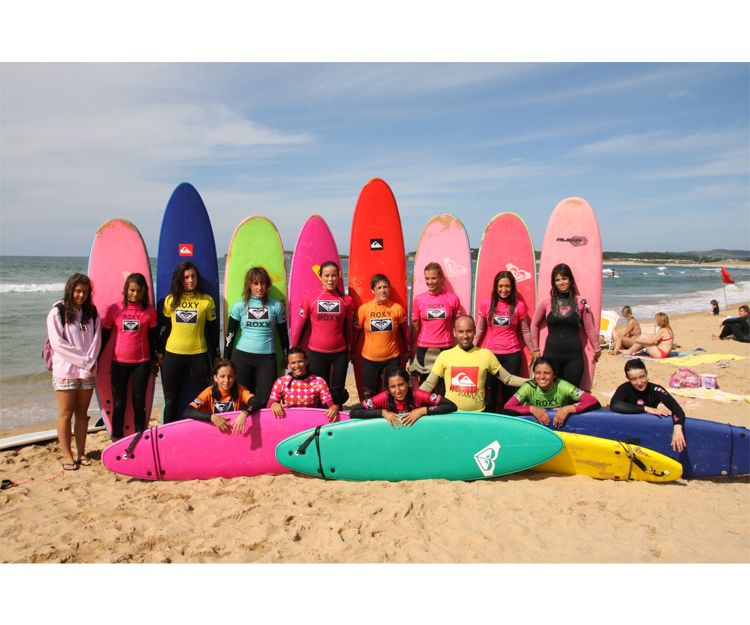 Venta de equipos de surf en Cantabria