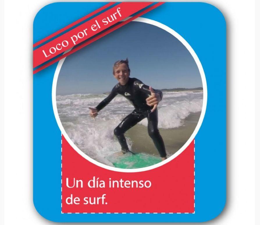 """Bono """"Loco por el Surf"""": Catálogo de Escuela Cántabra de surf"""