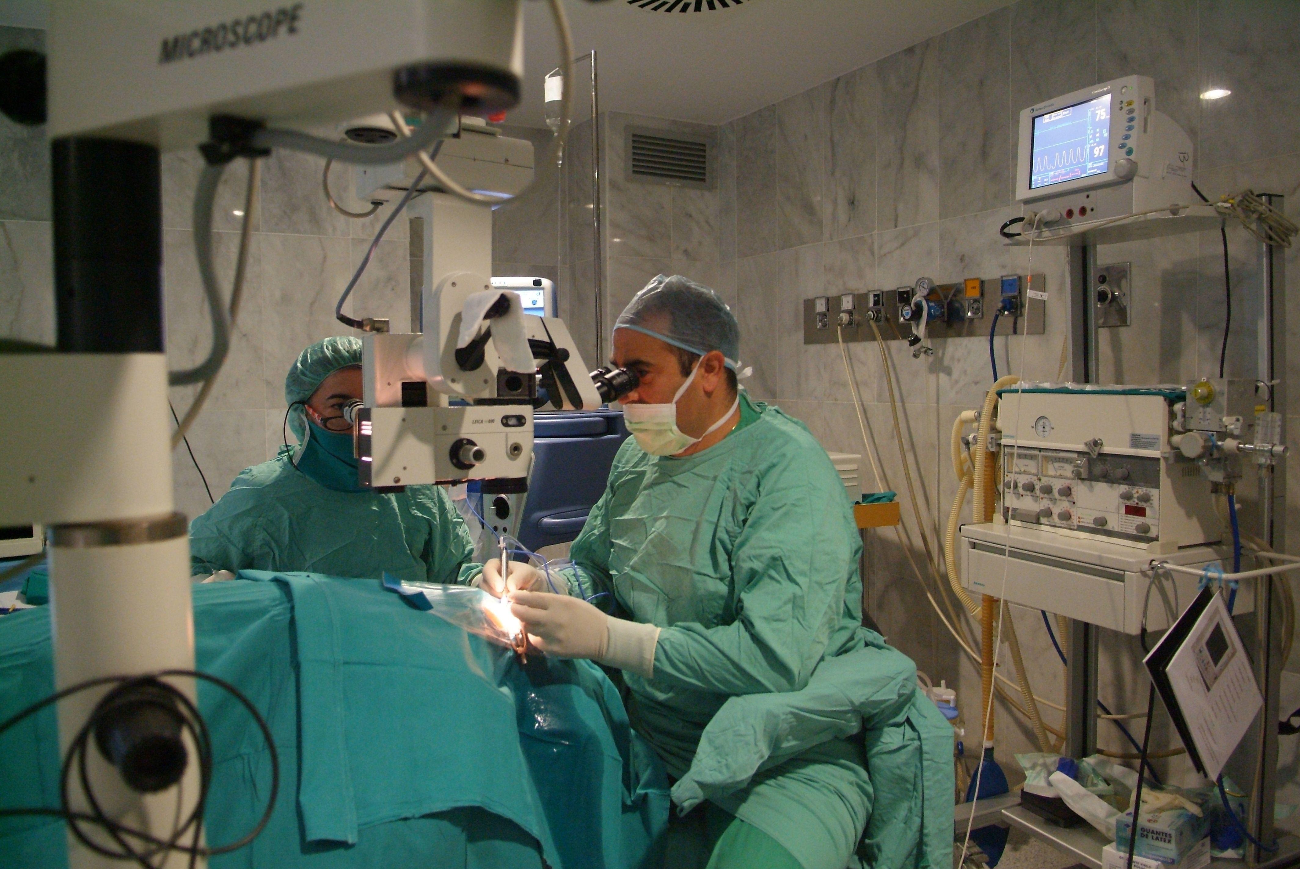 Microcirugía ocular