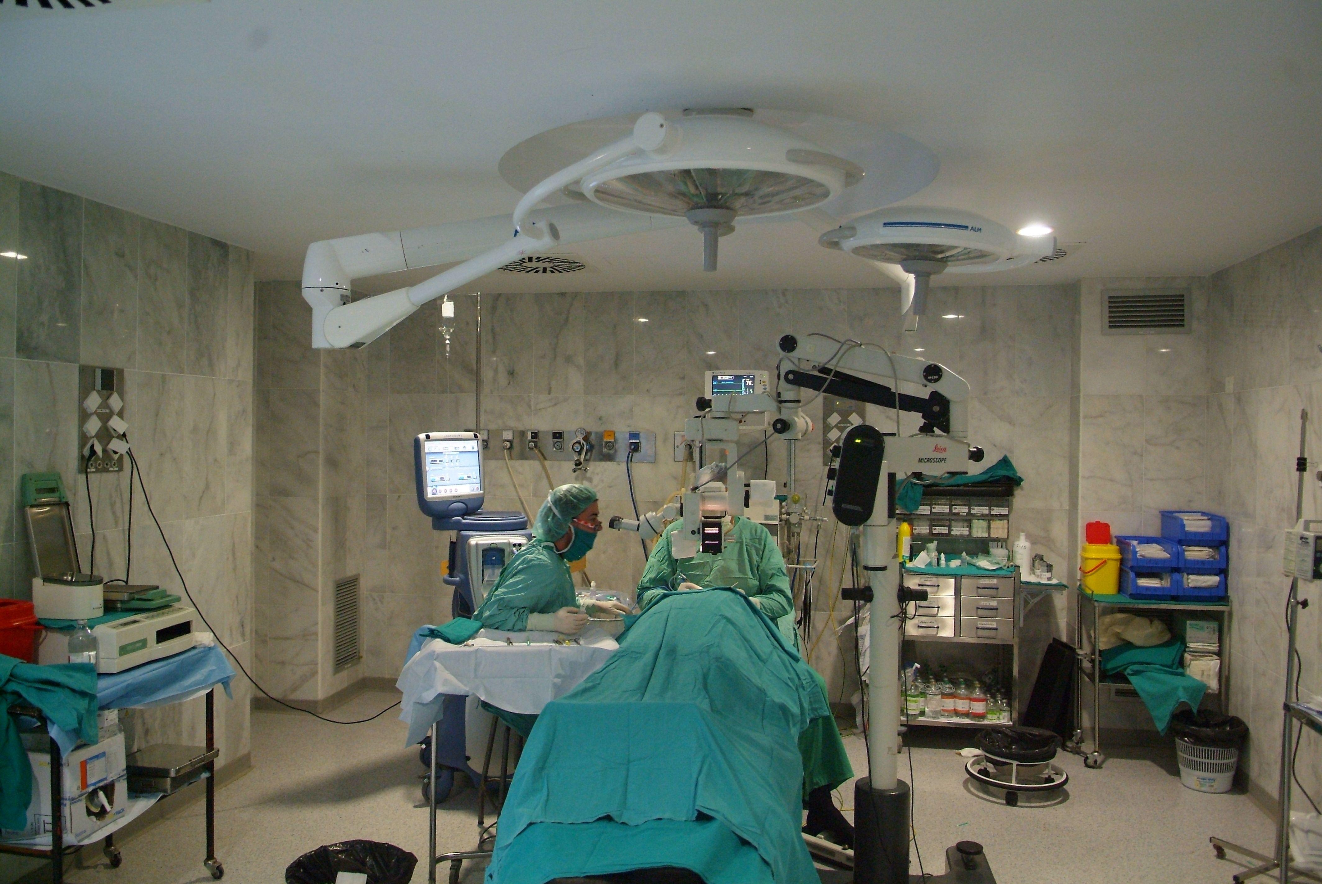 Durante una operación