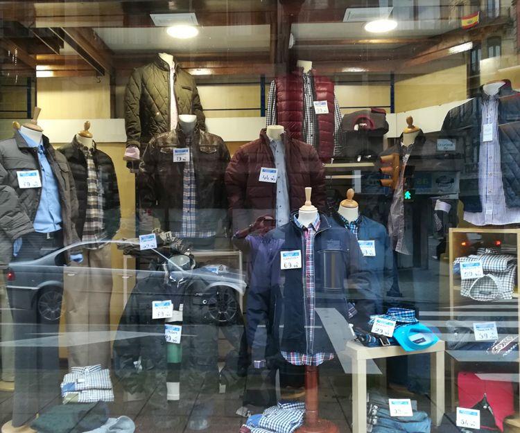 Venta de ropa en Gijón