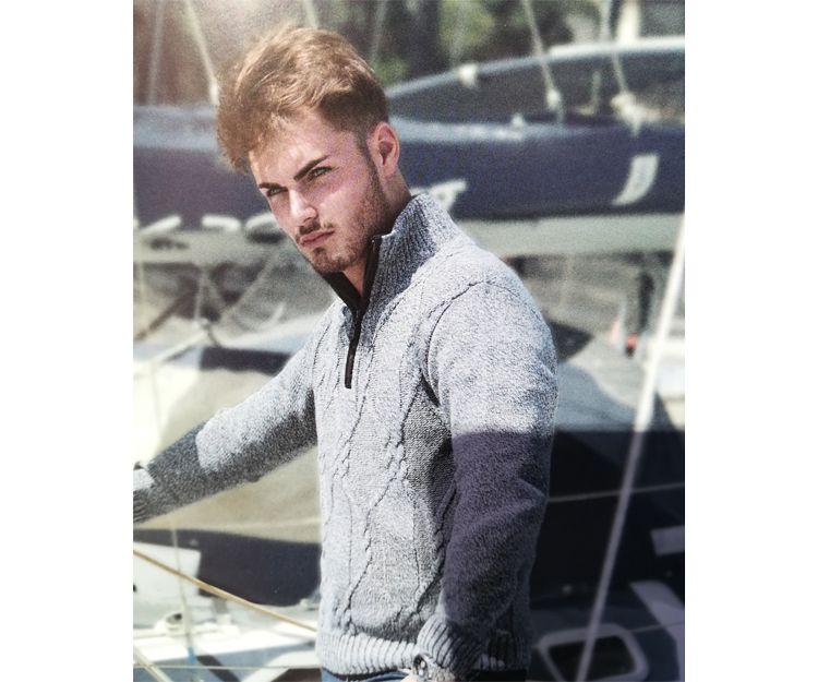 Jersey de caballero gris en Gijón