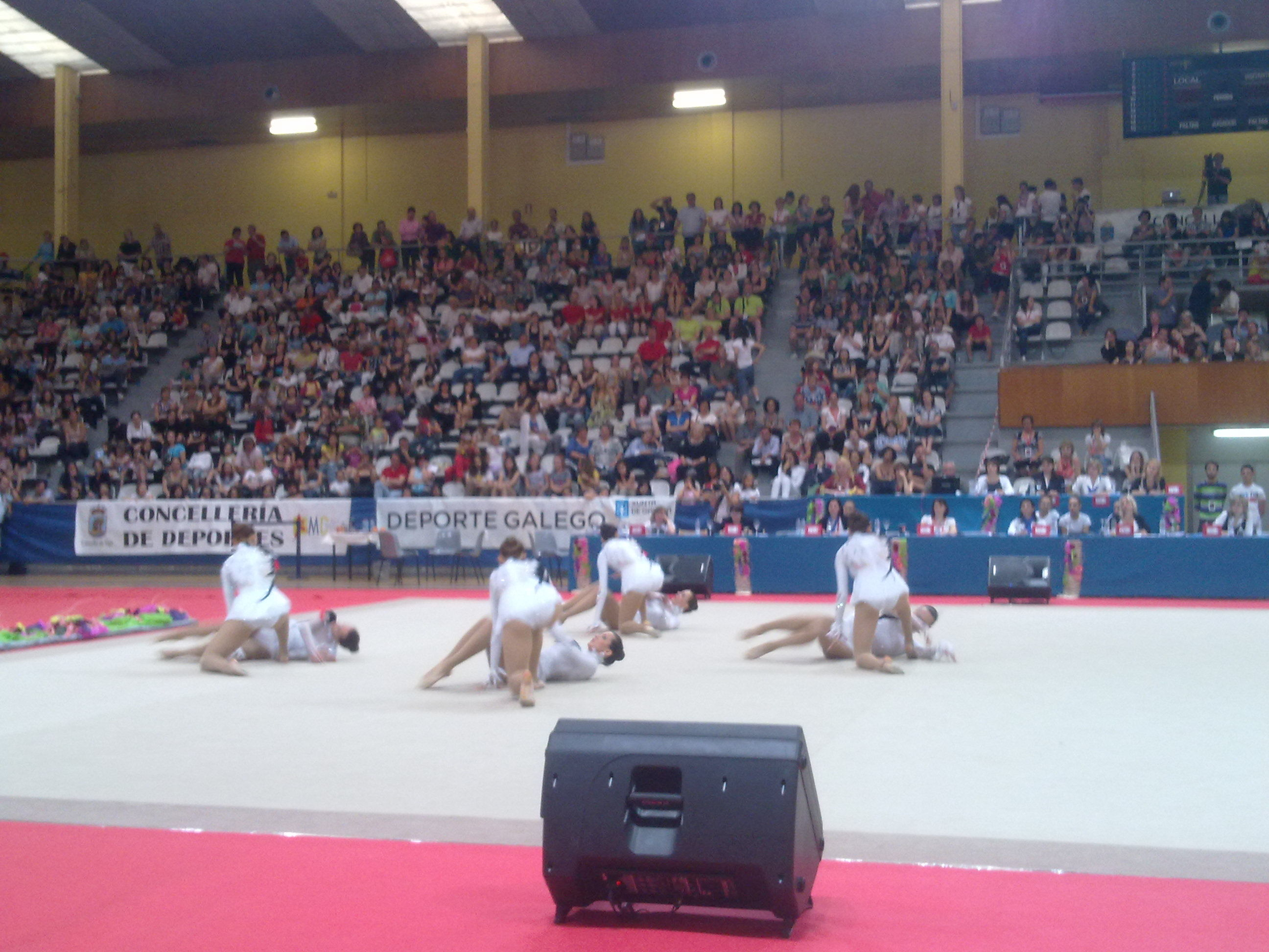 Campeonato Nacional de GImnasia I.M.D de Vigo