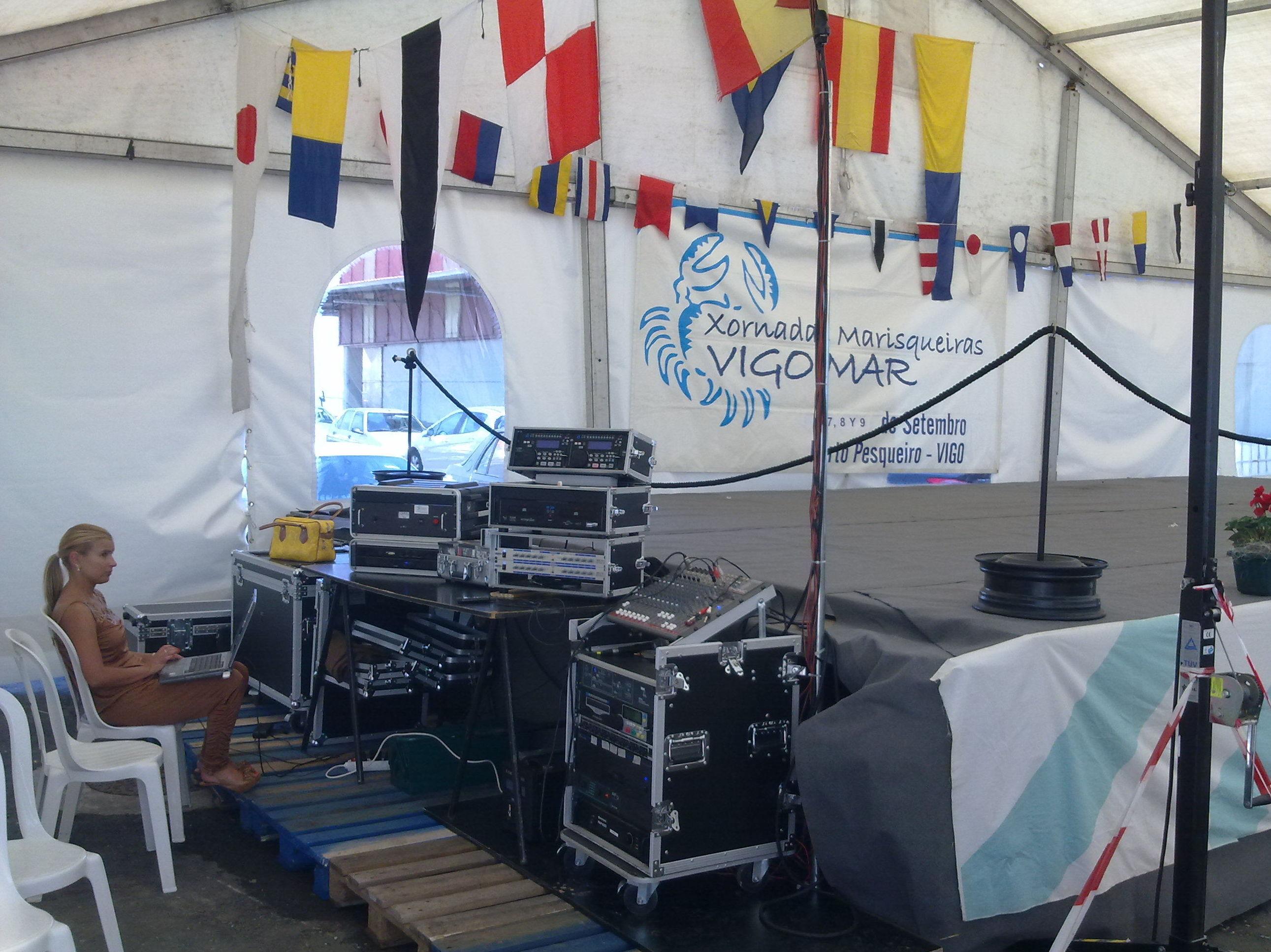 Fiesta del Marisco en Vigo 2012