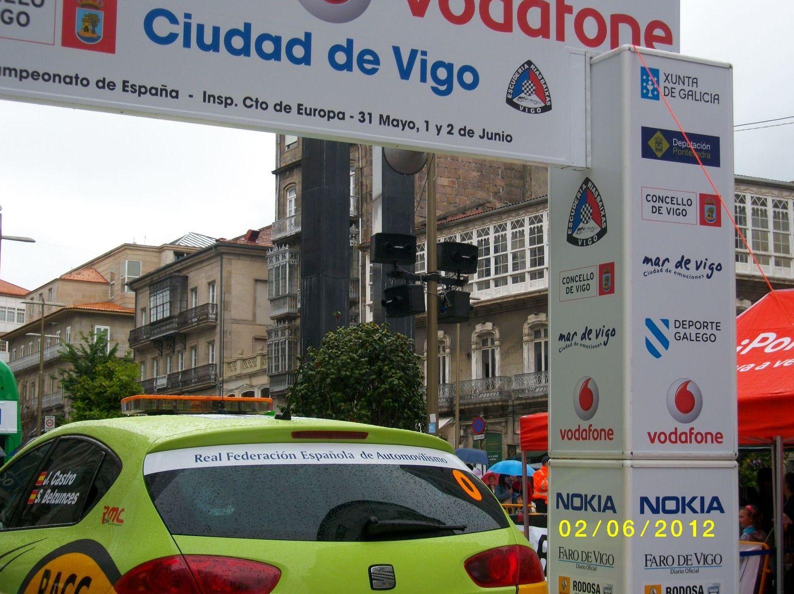 Vodafone Rally Rías Baixas