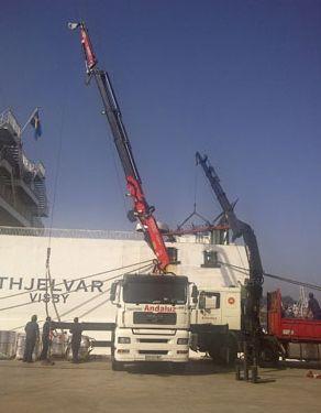 Foto 3 de Transporte de mercancías en Vigo | Transportes Andaluz