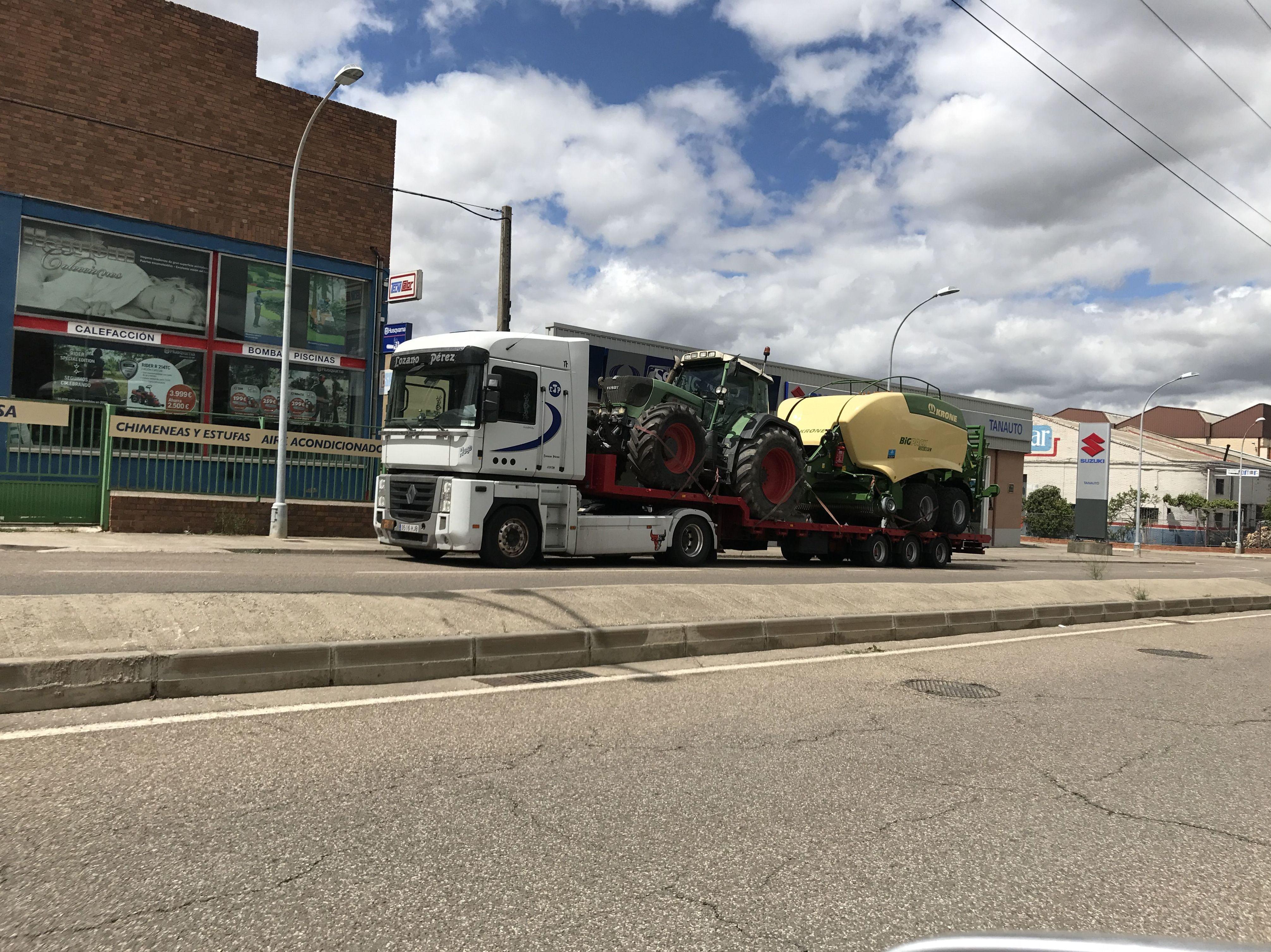 Foto 21 de Transporte de mercancías en Palencia | Transportes Lozano Pérez