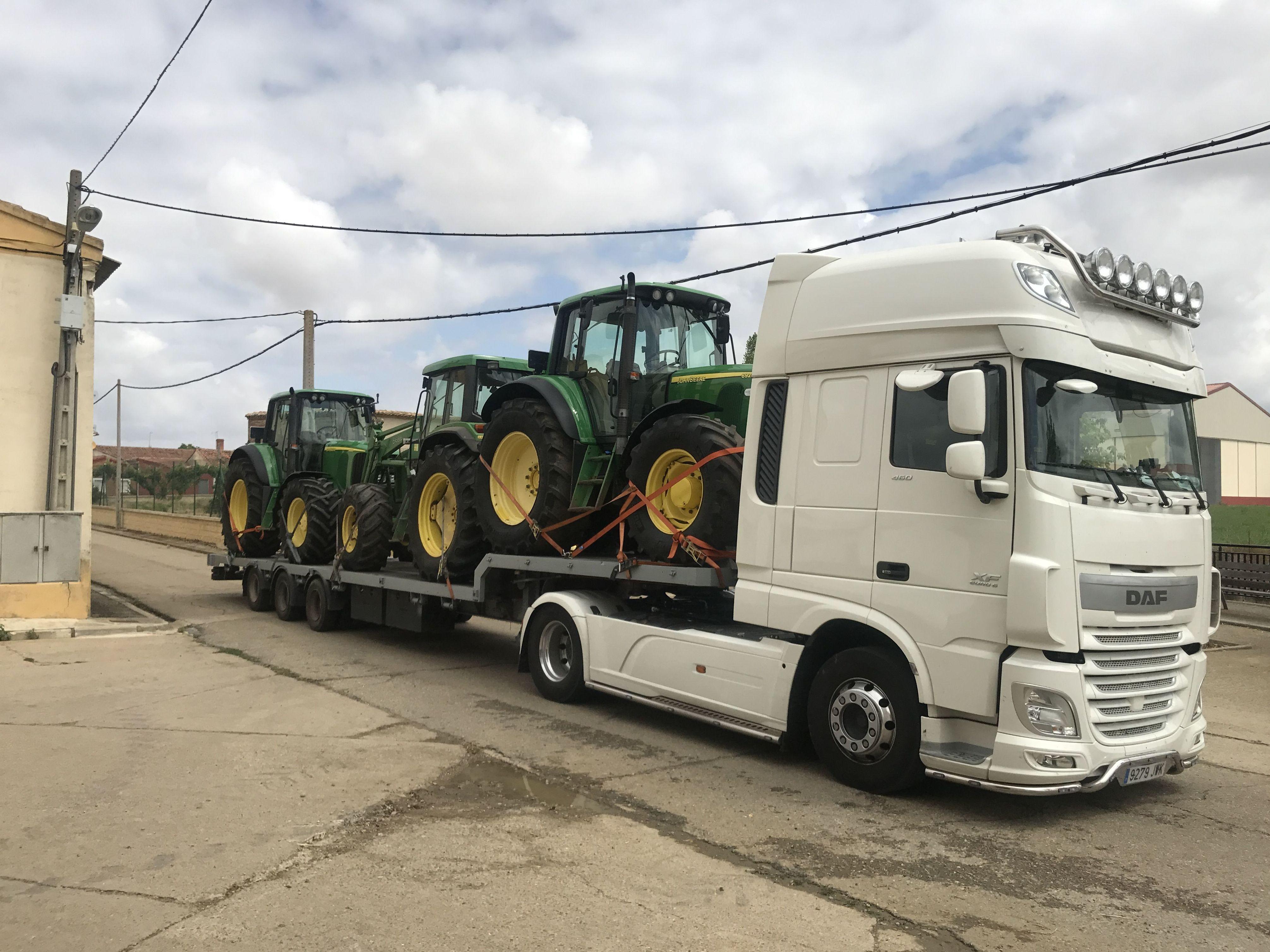 Foto 25 de Transporte de mercancías en Palencia | Transportes Lozano Pérez