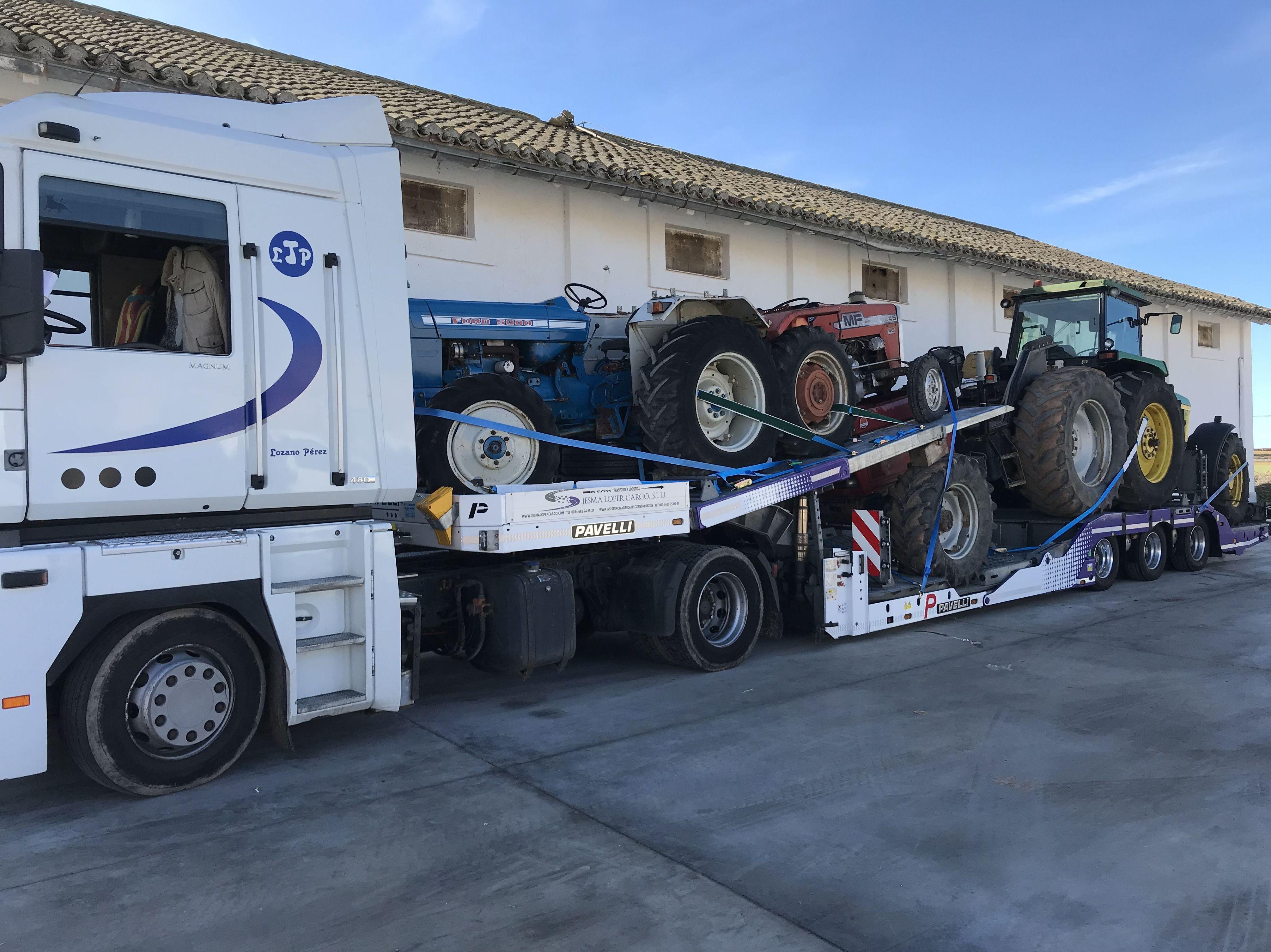 Foto 12 de Transporte de mercancías en Palencia | Transportes Lozano Pérez