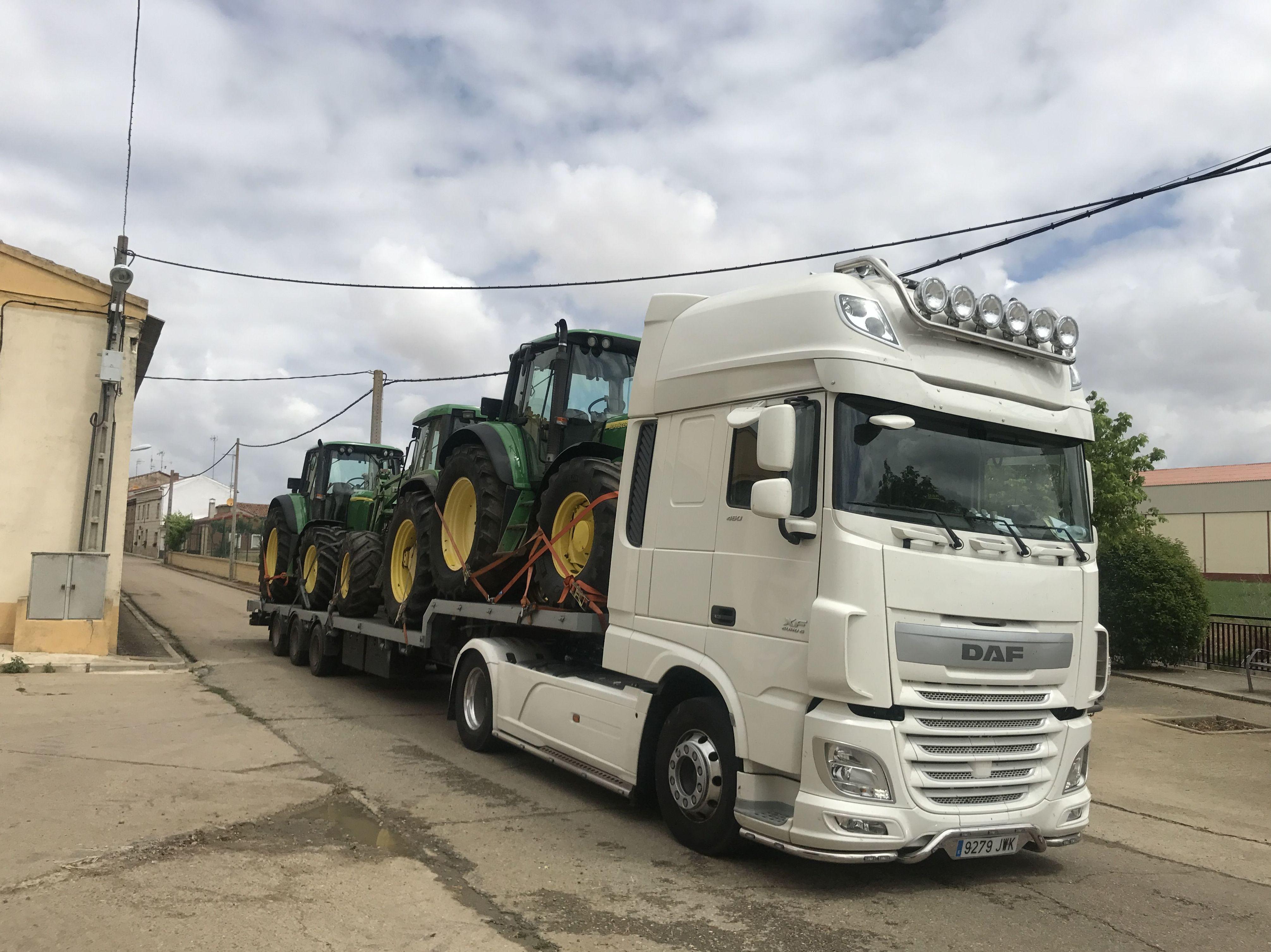 Foto 26 de Transporte de mercancías en Palencia | Transportes Lozano Pérez
