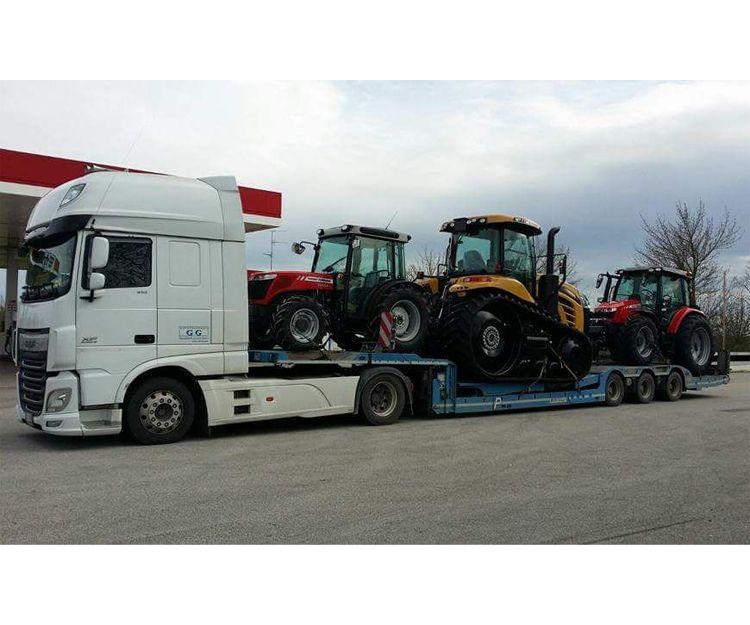 Transportes de vehículos especiales en Palencia