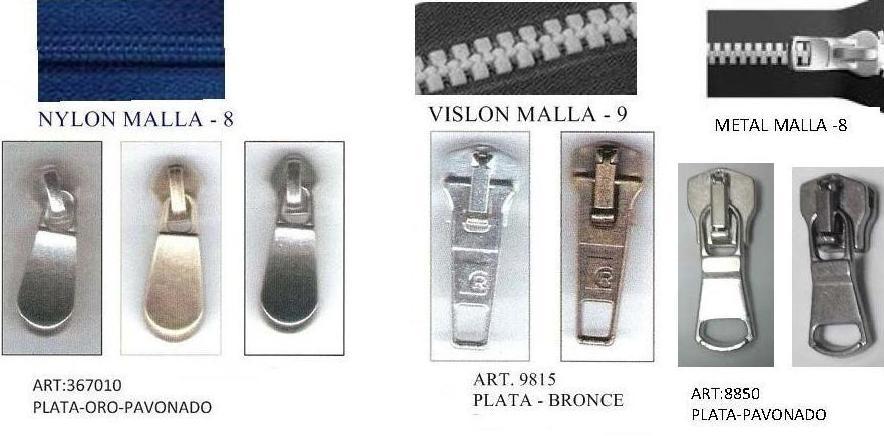 CURSOR NYLON 8 VISLON 9 METAL 8