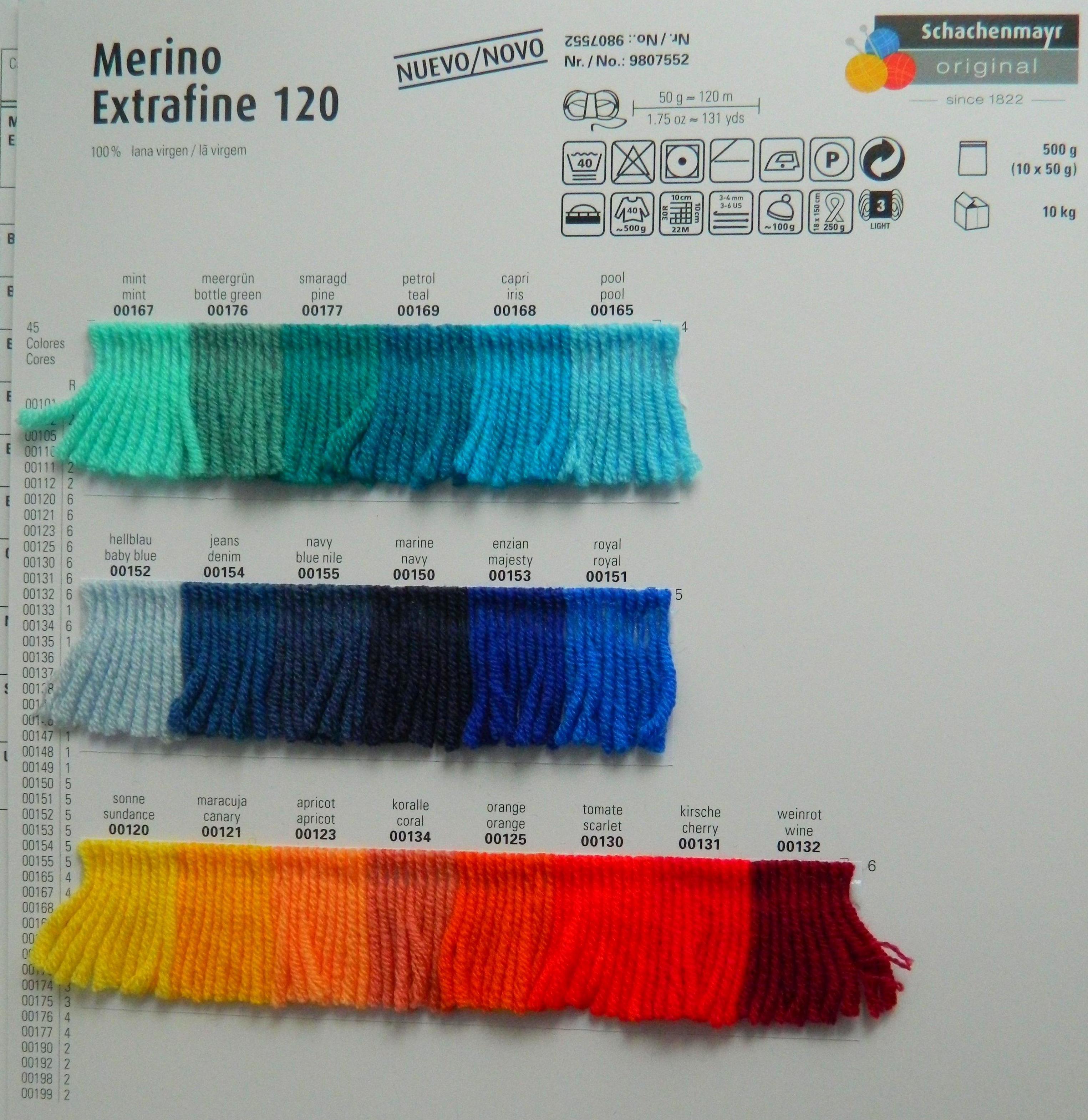 MERINO EXTRA FINO 120 ART:9807552