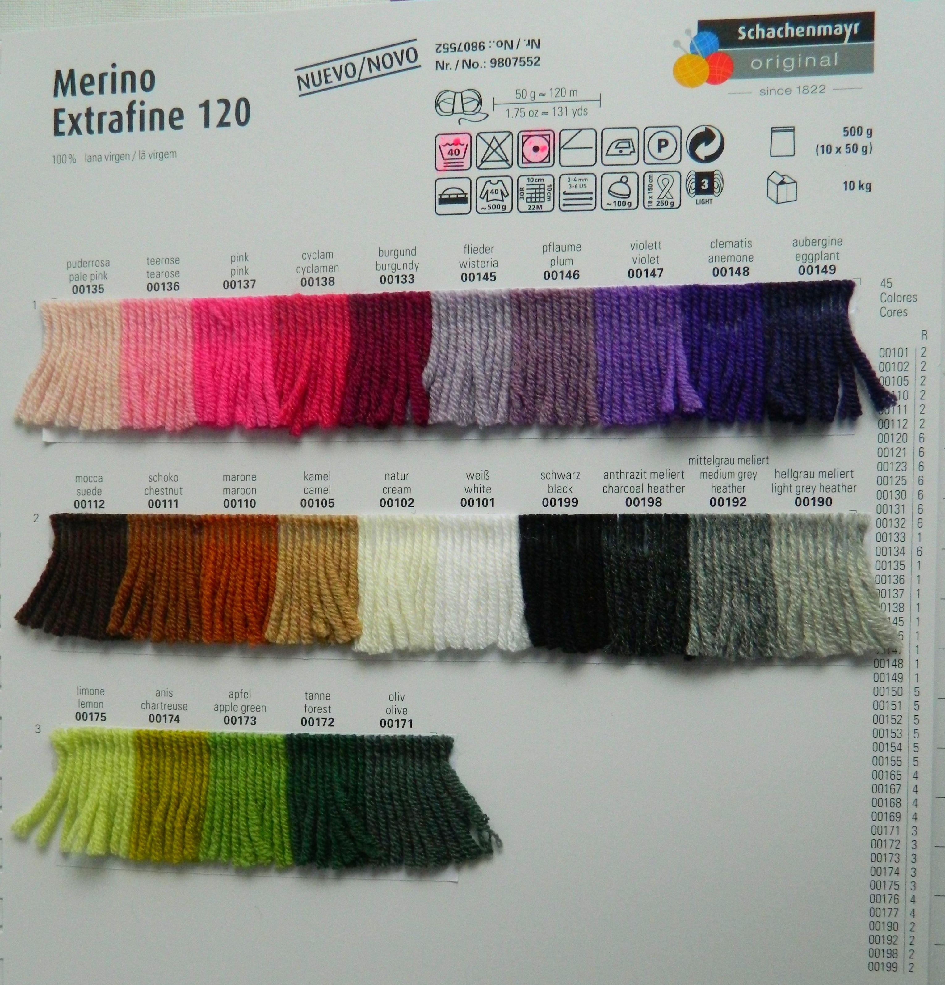 MERINO EXTRAFINO 120  ART:9807552