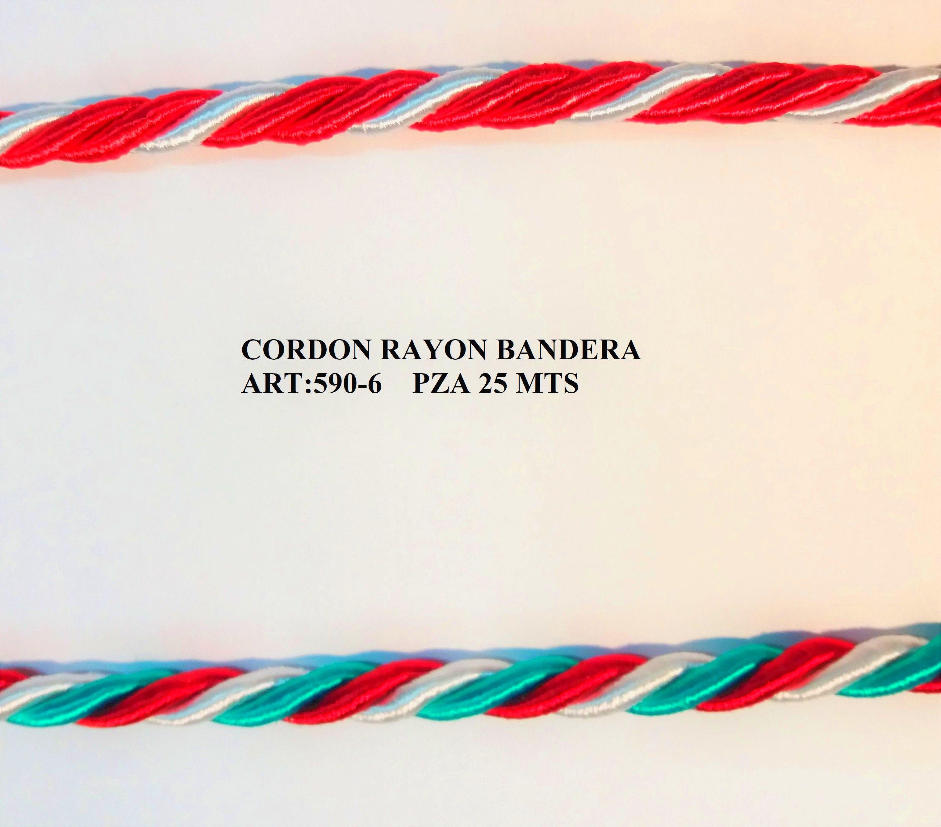 CORDON RAYON  BICOLOR ART:590-6: Catálogo de J.G. Merceros