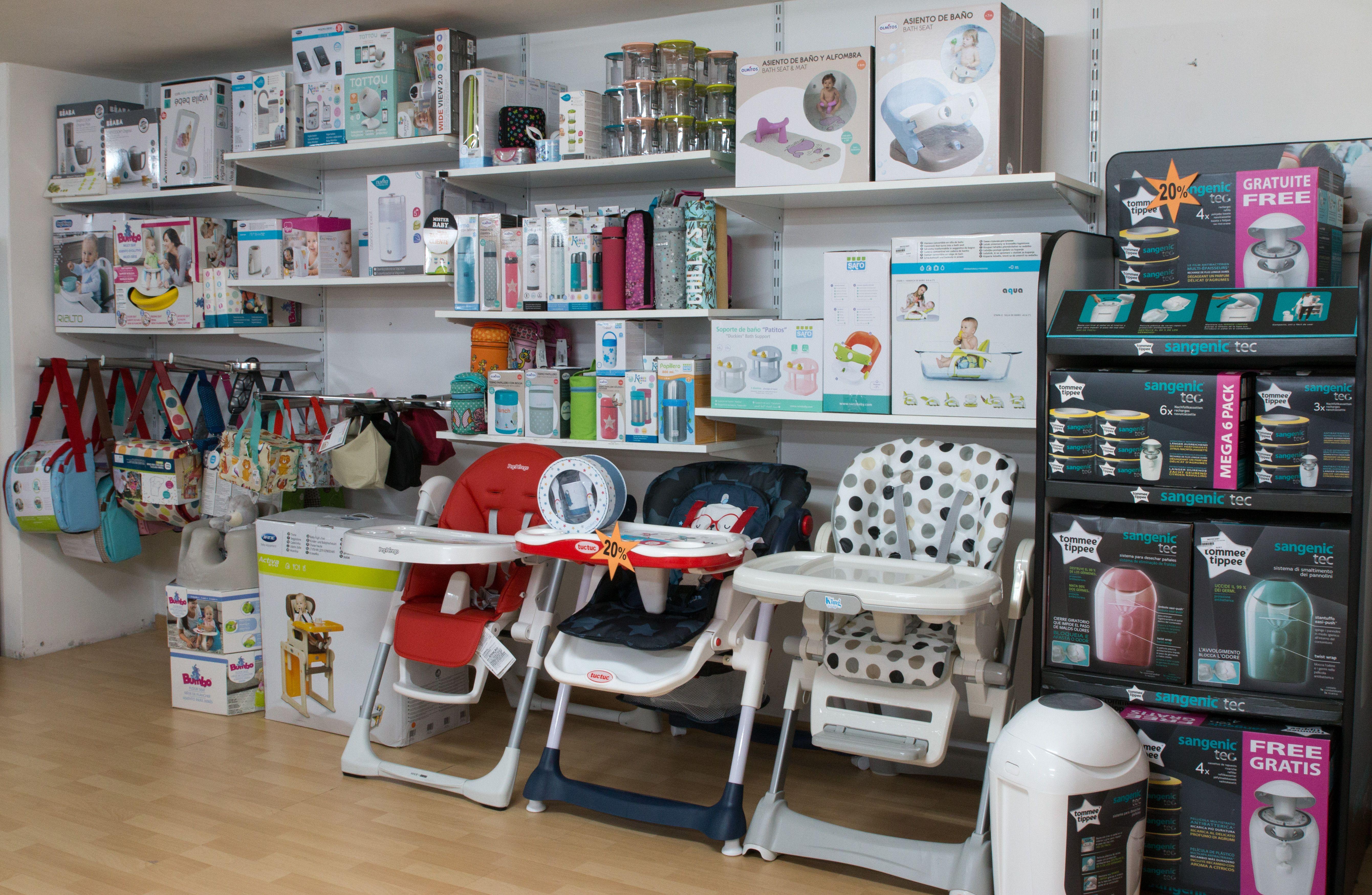 En Mister Baby contamos con una amplia gama de productos destinados al cuidado de los más pequeños de la casa