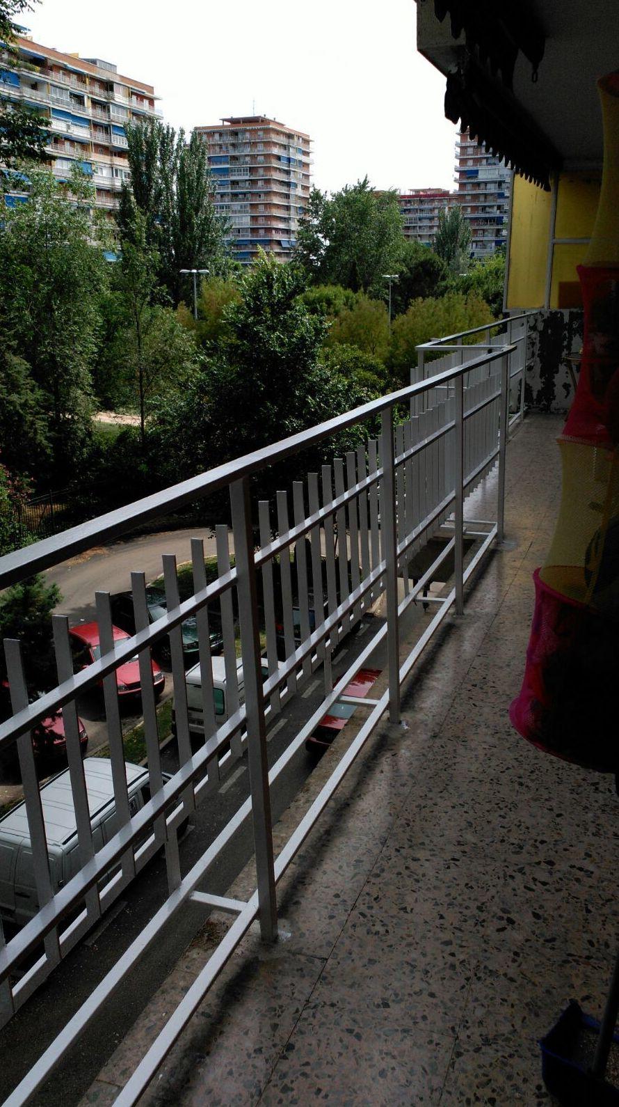 Pintura de balcones en Madrid