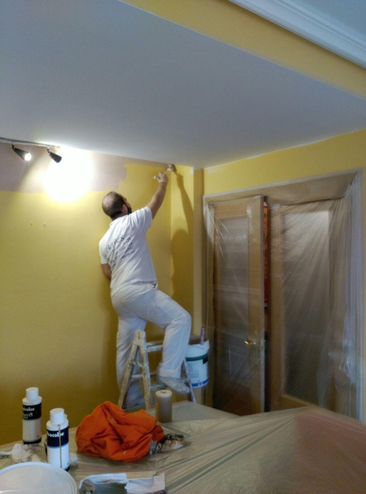 Trabajos de pinturas en Madrid