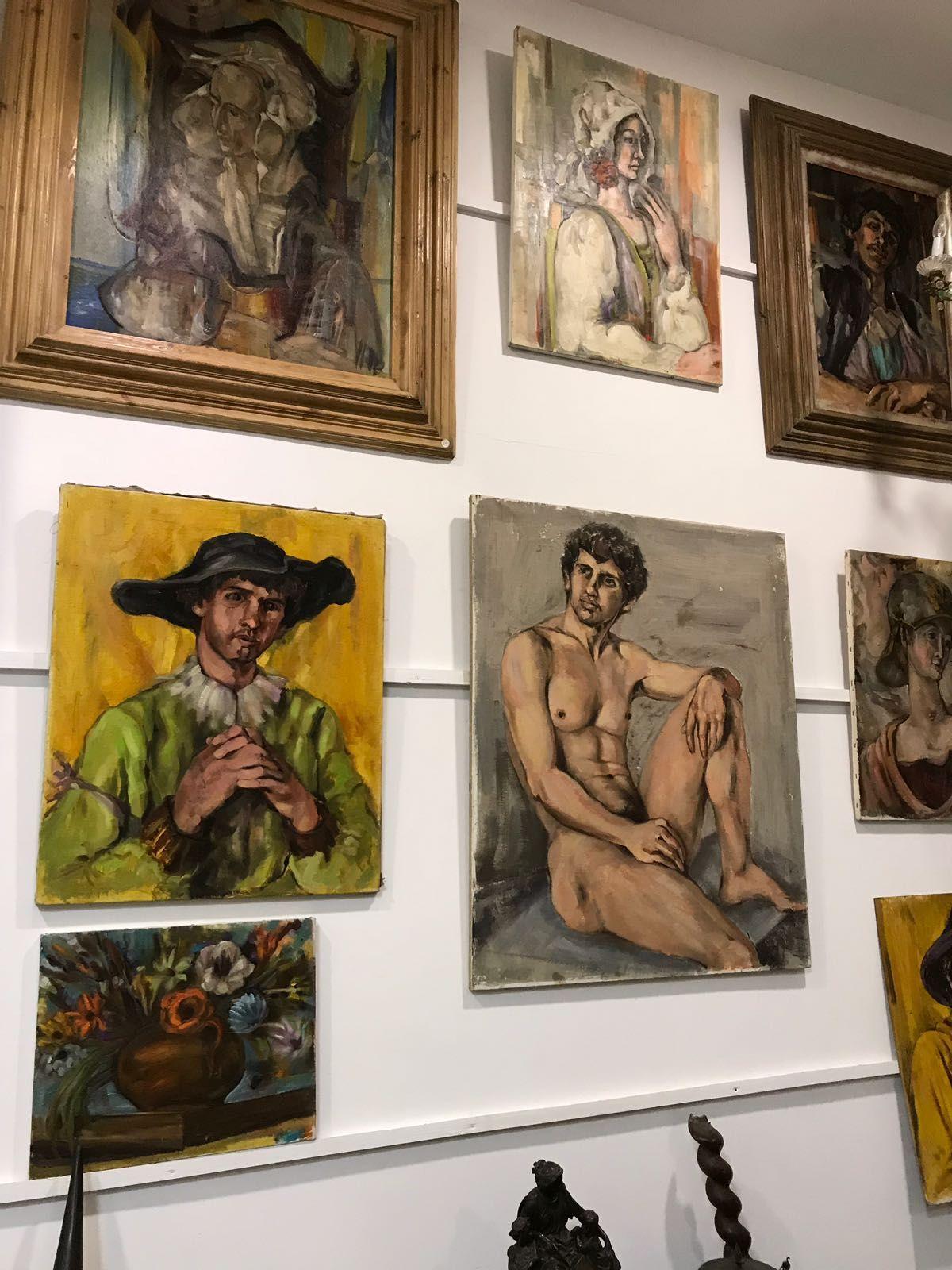 Foto 33 de Galerías de arte y salas de exposiciones en Cartagena | Arte & Antigüedades Federico Robles Perez