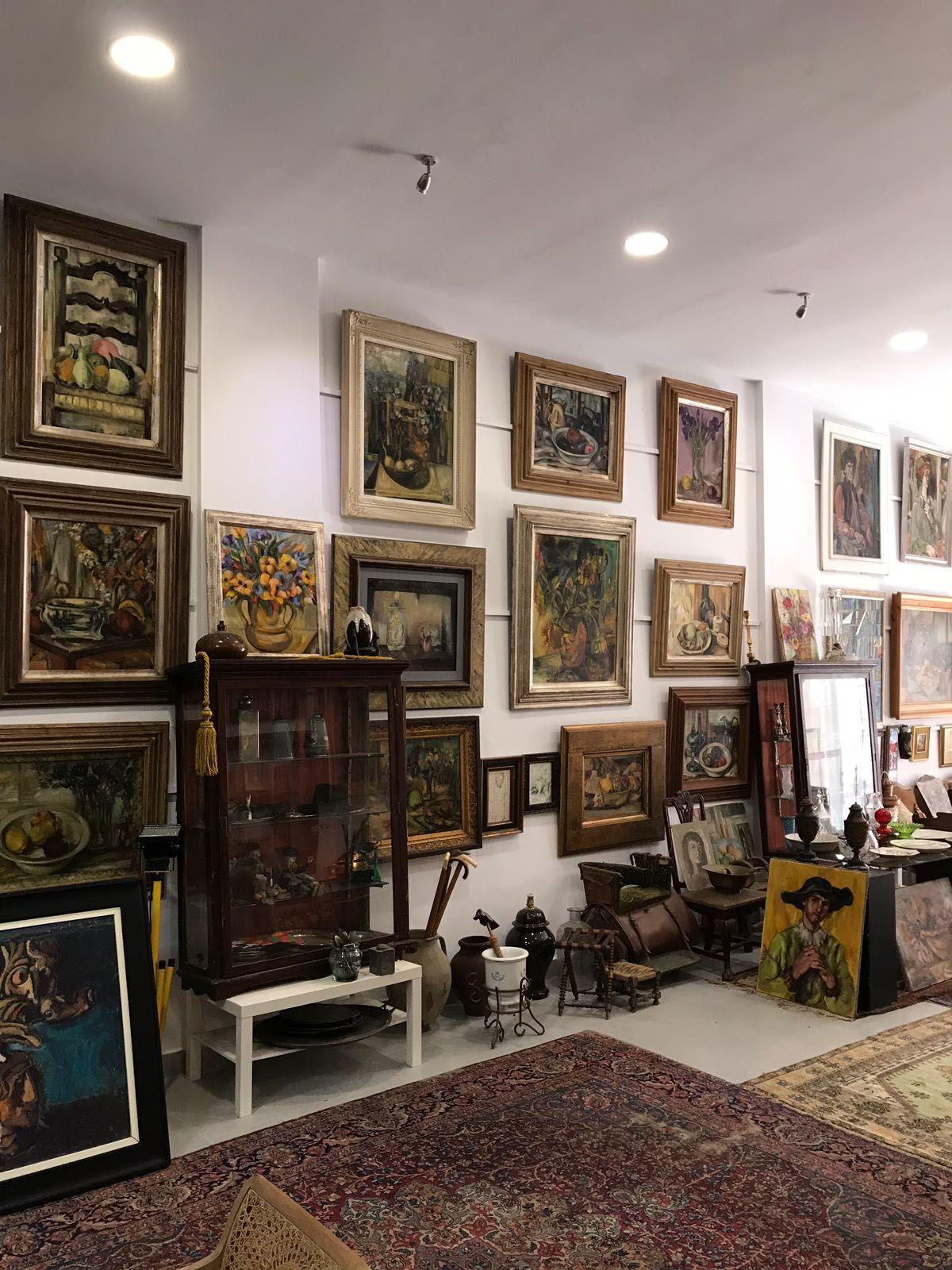 Foto 1 de Galerías de arte y salas de exposiciones en Cartagena | Arte & Antigüedades Federico Robles Perez