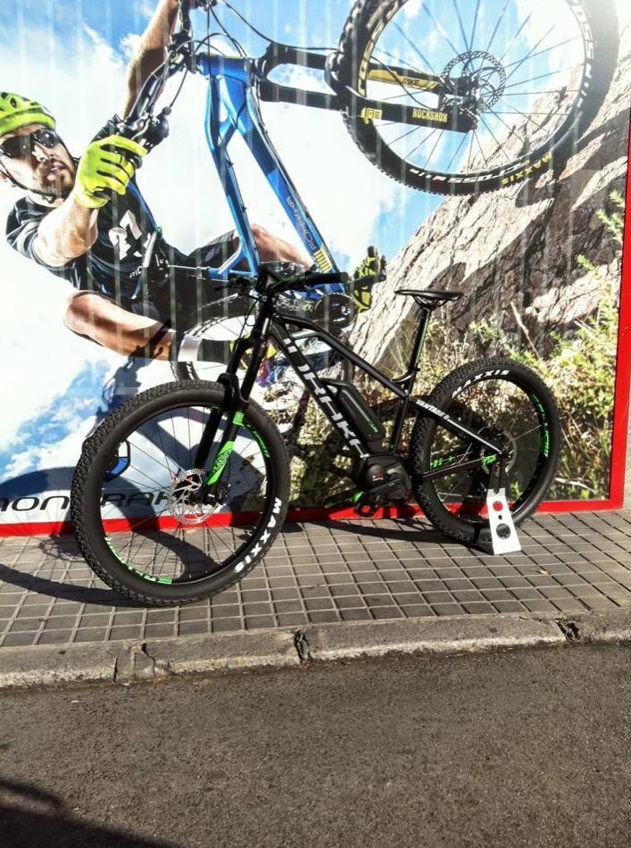 Mondraker EBike E-vantage R 27,5+: Bicicletas y accesorios de Mejor Bike