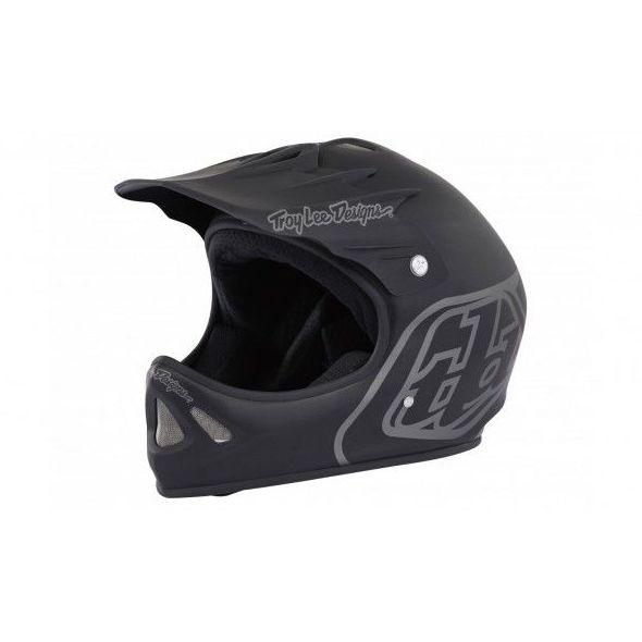 Casco Troy Lee Designs D2 Midnight 2 negro: Bicicletas y accesorios de Mejor Bike