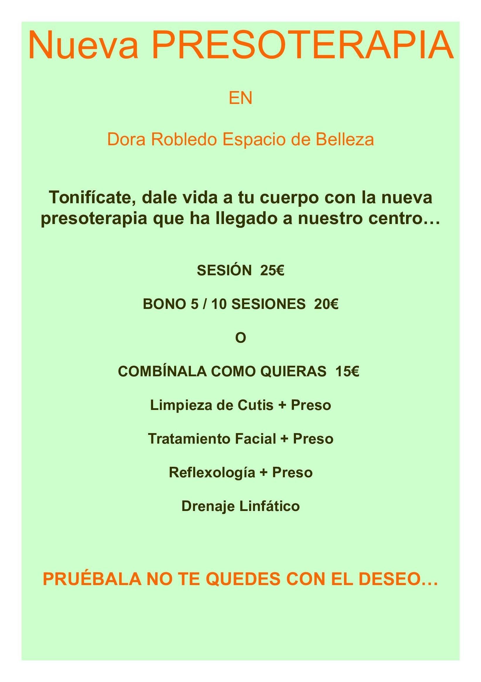Foto 4 de Centros de estética en Málaga | Dora Robledo - Espacio de Belleza